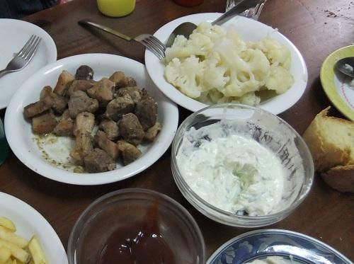 ともちゃん宅で夕食