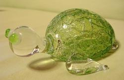 琉球硝子亀