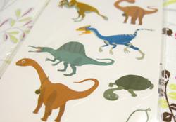 恐竜博ステッカー