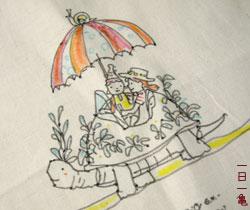 手描き亀バッグ