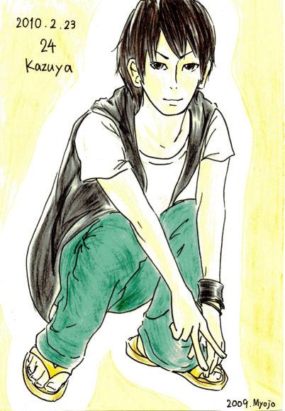 2010/02/23 HAPPY BIRTHDAY KAZUYA