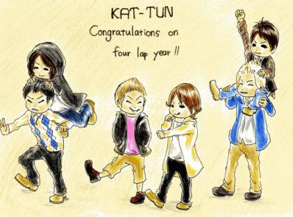 KAT-TUN 4周年