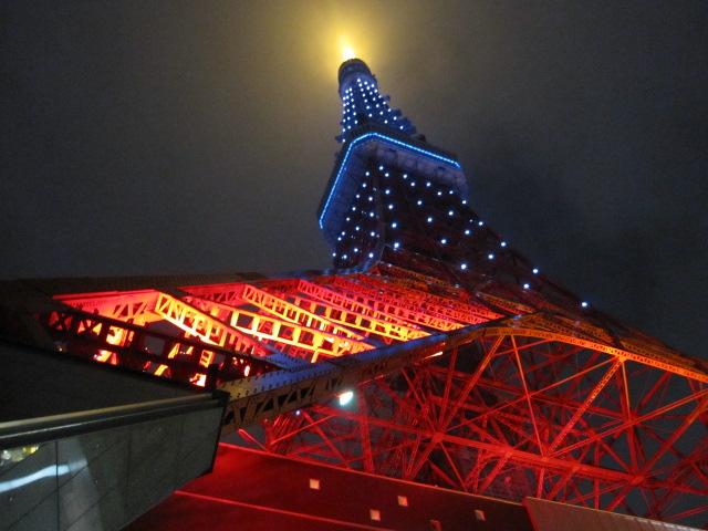 東京タワー サムライブルー