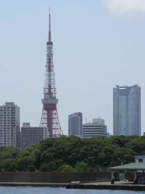 勝どき 東京タワー1