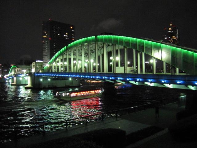 夜の勝鬨橋3