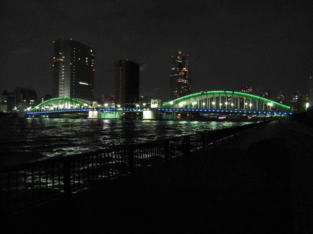 夜の勝鬨橋1