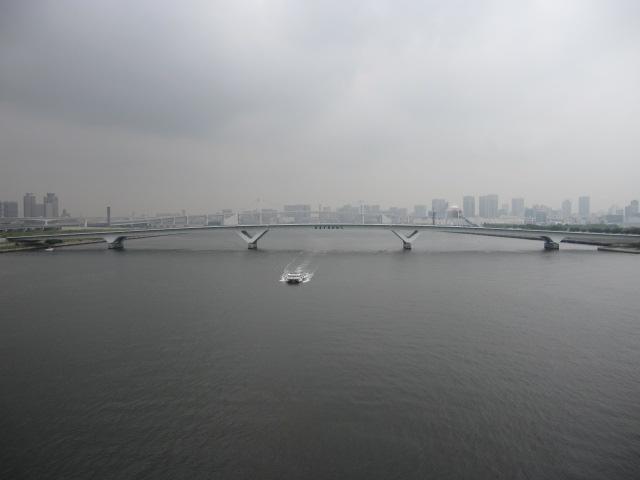 晴海大橋 晴海運河 東京湾