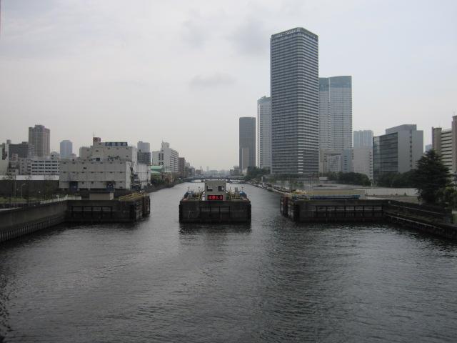 朝潮運河 上流