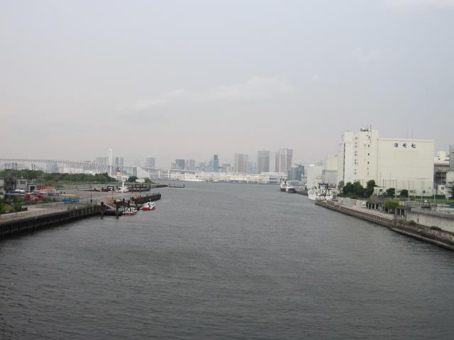 朝潮運河 東京湾