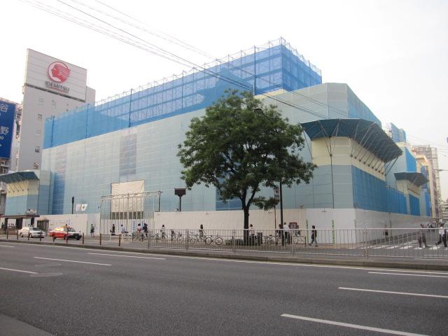 歌舞伎座 建て替え工事