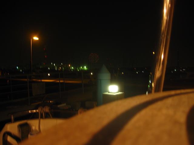 ヨットハーバー 江東区の花火