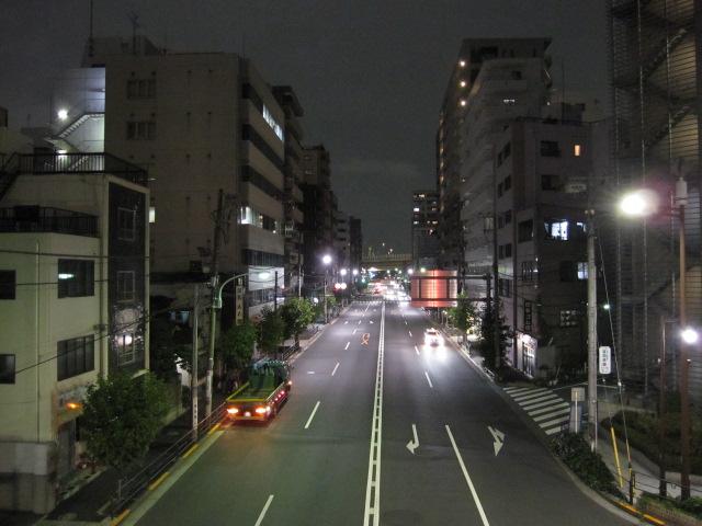 ここは江東区