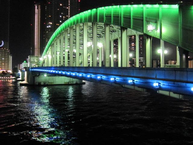 きらめく的な勝鬨橋