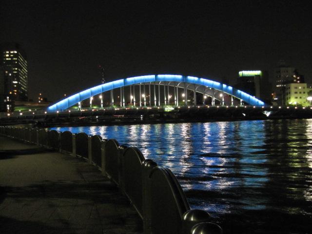 永代橋ですよ♪
