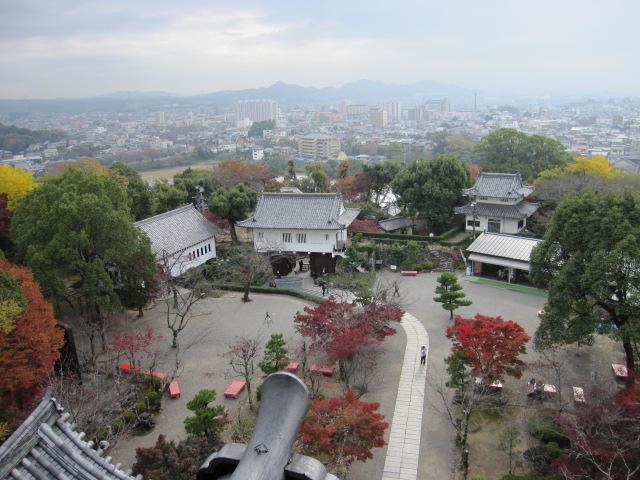 犬山城からの眺望