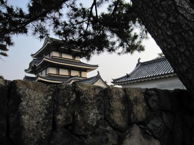 高松城(玉藻城) 月見櫓だと思う