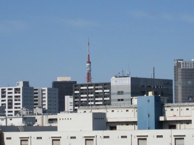 東京タワー 晴海大橋