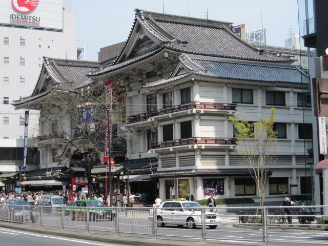 歌舞伎座 斜め