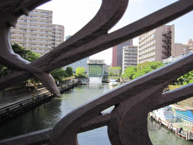 月島川 水門