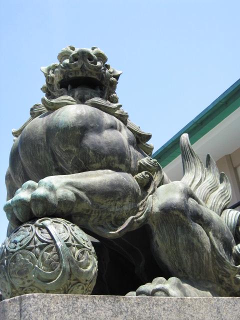 水天宮 狛犬(右)