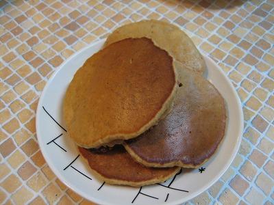 玄米甘酒パンケーキ