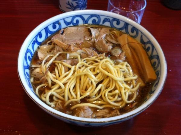 麺屋 十郎兵衛 肉そば(二杯目) 麺