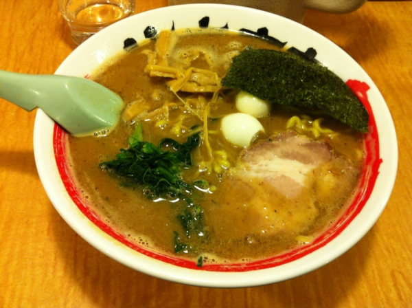 竹本商店つけ麺北辰堂 濃豚骨カニラーメン