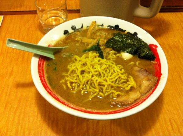 竹本商店つけ麺北辰堂 濃豚骨カニラーメン 麺
