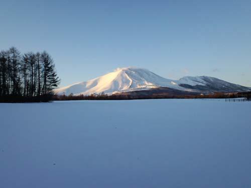 H22年1月浅間山