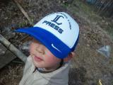 2号の帽子