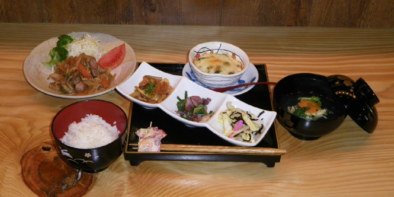 豚と根菜の味噌炒めS