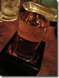 日本酒は2杯にしといた