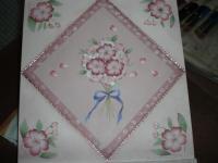 桜のボード高野圭子先生
