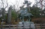 源義家の像