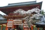 八坂神社のもう一つの門