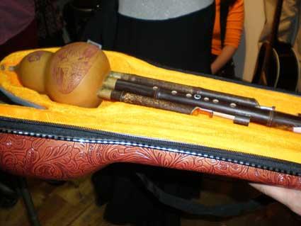 ひょうたん笛のケース