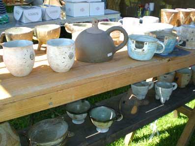 陶芸、カップたち