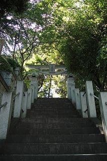 浅間神社入り口