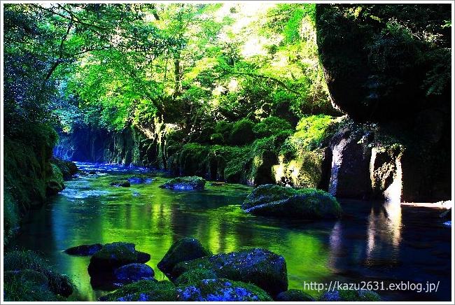 菊池渓谷 竜ケ淵