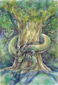木の守護龍中