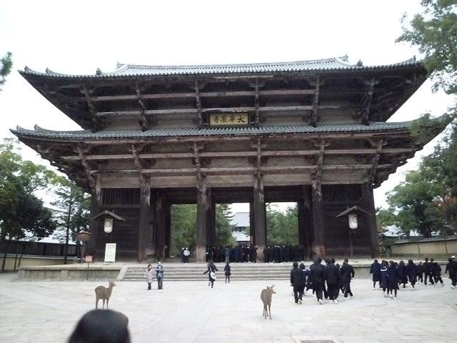 国宝 東大寺南大門です