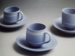 ウェッジウッド社のためのカップとソーサー