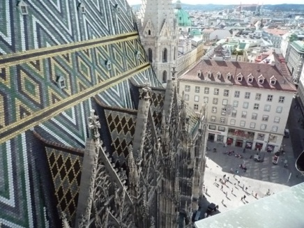 Charch in Vienna Stephansdom S1