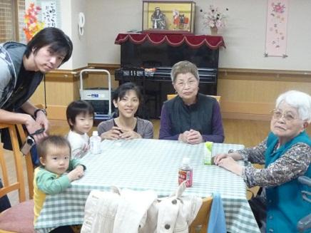 曾祖母訪問S
