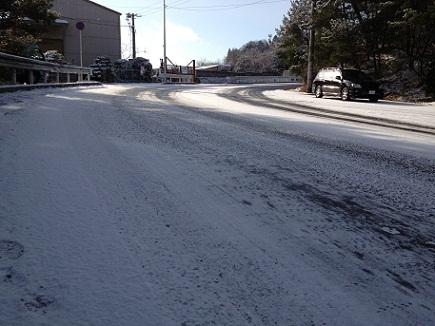 1月26日雪道S1
