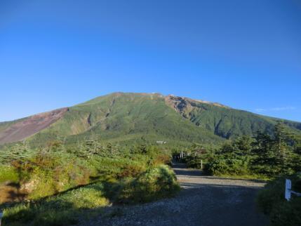 御嶽山です