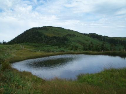 駒ノ池から駒ヶ岳