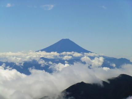 今日は何と言っても富士山です