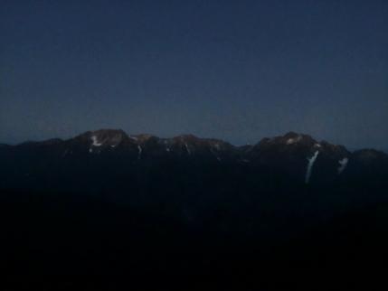 立山、剣岳