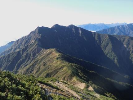 布引山から爺ヶ岳